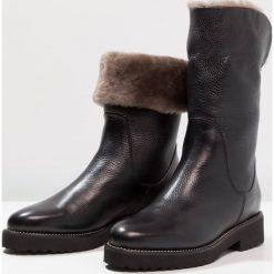 Buty zimowe damskie: Luca Grossi CAPTEN Śniegowce nero