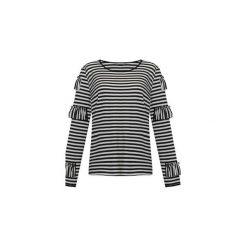 Bluzka z falbankami. Szare bluzki z falbaną marki Elevenstory, m, z bawełny, klasyczne, z falbankami. Za 169,00 zł.