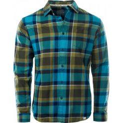 Koszule męskie na spinki: IGUANA Koszula Tariro Biscay Bay/Capulet Olive r. L