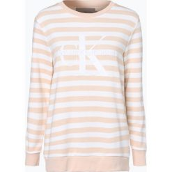 Bluzy damskie: Calvin Klein Jeans - Damska bluza nierozpinana, różowy