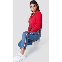 Levi's Jeansy 501 Crop Spectator Sport - Blue. Niebieskie jeansy damskie marki Levi's®, z jeansu. Za 404,95 zł.