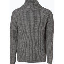 Drykorn - Męska bluza nierozpinana z dodatkiem alpaki – Bato, szary. Szare bluzy męskie rozpinane DRYKORN, l, z dzianiny. Za 589,95 zł.
