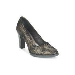 Czółenka Myma  HONSTOU. Czarne buty ślubne damskie Myma. Za 383,20 zł.