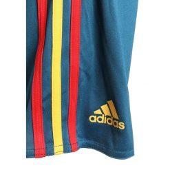 Adidas Performance FEF SPAIN HOME MINIKIT SET Krótkie spodenki sportowe red/bogold. Czerwone spodenki chłopięce adidas Performance, z materiału, sportowe. Za 269,00 zł.