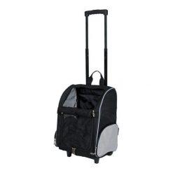 Trixie Torba Podróżna Na Kółkach. Czarne torby podróżne Trixie, z motywem zwierzęcym. Za 154,00 zł.