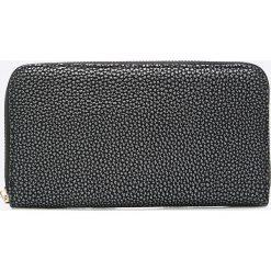 Answear - Portfel Stripes Vibes. Czarne portfele damskie ANSWEAR, z materiału. W wyprzedaży za 29,90 zł.