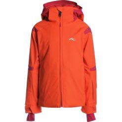Kjus GIRLS FORMULA  Kurtka hardshell orange/red. Czerwone kurtki chłopięce marki Reserved, z kapturem. W wyprzedaży za 733,85 zł.
