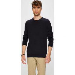 Mustang - Sweter. Czarne swetry klasyczne męskie marki Mustang, l, z bawełny, z kapturem. Za 149,90 zł.