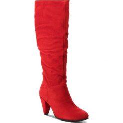 Kozaki TAMARIS - 1-25539-21 Lipstick 515. Szare buty zimowe damskie marki Tamaris, z materiału. Za 329,90 zł.