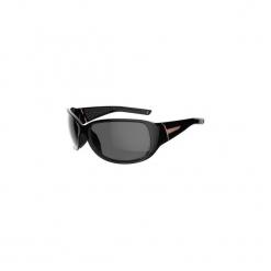 Okulary przeciwsłoneczne MH 510 kategoria 4. Czarne okulary przeciwsłoneczne damskie lenonki QUECHUA, z gumy. Za 79,99 zł.