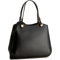 Torebka CREOLE - K10288  Czarny. Czarne torebki klasyczne damskie Creole, ze skóry, duże. W wyprzedaży za 269,00 zł.