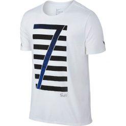Nike Koszulka męska Ronaldo Logo Tee biała r. L (789414-100). Białe t-shirty męskie Nike, l. Za 75,48 zł.