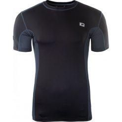 IQ Koszulka męska SOREN Black/ Midnight Navy r. XXL. Szare koszulki sportowe męskie marki IQ, l. Za 55,45 zł.