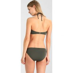 Stroje kąpielowe damskie: MICHAEL Michael Kors LOGO RING BANDEAU CLASSIC BOTTOM SET Bikini ivy