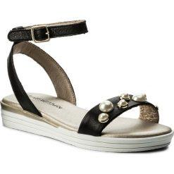Sandały dziewczęce: Sandały STUART WEITZMAN – B182611 M B-Black (Sauvage)