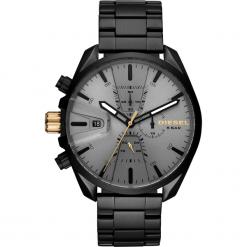 Zegarek DIESEL - MS9 Chrono DZ4474  Black/Black. Czarne zegarki męskie Diesel. Za 1095,00 zł.