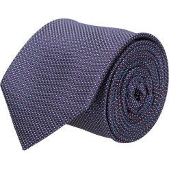 Krawaty męskie: krawat platinum fiolet classic 210