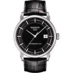 RABAT ZEGAREK TISSOT T-CLASSIC T086.407.16.051.00. Czarne zegarki męskie TISSOT, ze stali. W wyprzedaży za 2464,00 zł.