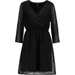 Sukienki hiszpanki: Vero Moda VMLEA  Sukienka letnia black