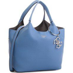 Torebka GUESS - HWVY68 65060 PER. Niebieskie torebki klasyczne damskie marki Guess, z aplikacjami, ze skóry ekologicznej. Za 679,00 zł.