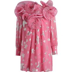 Sukienki dziewczęce z falbanami: Little Marc Jacobs Sukienka koktajlowa rose