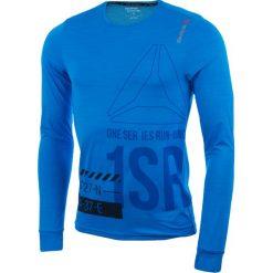 T-shirty męskie: koszulka do biegania męska REEBOK ONE SERIES RUNNING LONG SLEEVE ACTIVCHILL TEE / AX9513