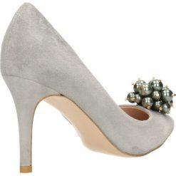 Czółenka SAVONA. Szare buty ślubne damskie marki Gino Rossi, ze skóry. Za 299,90 zł.