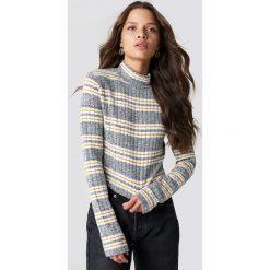 Trendyol Sweter z golfem - Grey. Szare golfy damskie Trendyol, z materiału. Za 80,95 zł.