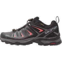 Salomon X ULTRA 3 GTX  Obuwie hikingowe magnet/black/mineral red. Czarne buty sportowe damskie marki Salomon, z gore-texu, na sznurówki, outdoorowe, gore-tex. Za 659,00 zł.