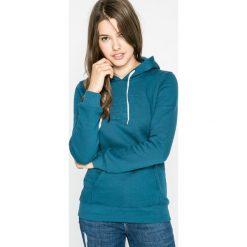 The North Face - Bluza. Szare bluzy rozpinane damskie The North Face, l, z nadrukiem, z bawełny, z kapturem. W wyprzedaży za 229,90 zł.