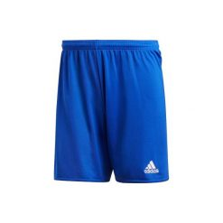 Spodenki Short. Niebieskie bermudy damskie Adidas. Za 44,99 zł.