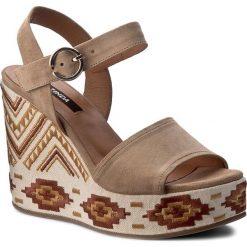 Rzymianki damskie: Sandały ZINDA – 2839 Kamel