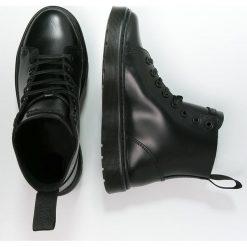 Dr. Martens Botki sznurowane black. Czarne botki damskie skórzane Dr. Martens, na sznurówki. Za 619,00 zł.