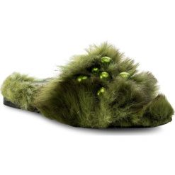 Chodaki damskie: Klapki HEGO'S MILANO - 1039 Fur Verde