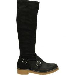 Kozaki - 6454K M-D NER. Czarne buty zimowe damskie marki Venezia, ze skóry. Za 229,00 zł.