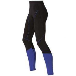 Odlo Spodnie Tights FURY czarno-fioletowe r. XS. Spodnie dresowe damskie Odlo, xs. Za 108,54 zł.
