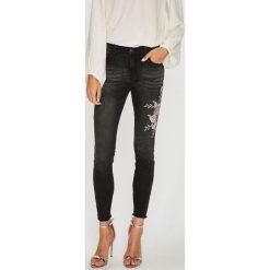 Sublevel - Jeansy. Szare jeansy damskie rurki marki G-Star RAW, z obniżonym stanem. Za 219,90 zł.