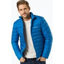 Calvin Klein - Męska kurtka puchowa, niebieski. Niebieskie kurtki męskie puchowe marki Calvin Klein, m, z puchu, eleganckie. Za 899,95 zł.