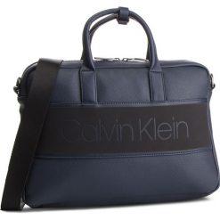 Torba na laptopa CALVIN KLEIN - Strike Slim Laptop Bag K50K504277 Navy 068. Niebieskie torby na laptopa Calvin Klein, ze skóry ekologicznej. Za 599,00 zł.