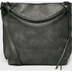 Medicine - Torebka Basic. Szare torebki klasyczne damskie MEDICINE, w paski, z materiału, duże. Za 149,90 zł.