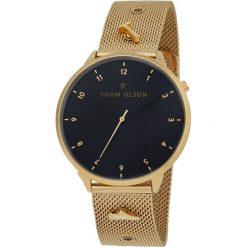 ZEGAREK THOM OLSON THOM CBTO006. Czarne zegarki męskie THOM OLSON, ze stali. Za 449,00 zł.