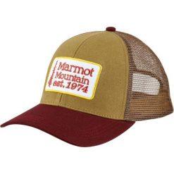 Marmot Czapka Z Daszkiem Retro Trucker Hat St Green. Zielone czapki męskie Marmot, retro. Za 105,00 zł.