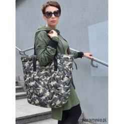 Torba MORO. Czarne torebki klasyczne damskie Pakamera, moro, z żakardem, duże. Za 149,00 zł.