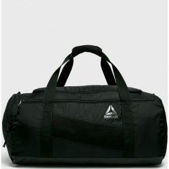 Reebok - Torba 48 l. Czarne torebki klasyczne damskie Reebok, z materiału. Za 179,90 zł.