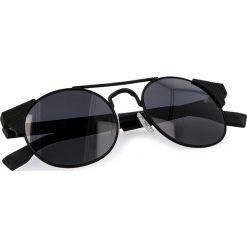 Okulary przeciwsłoneczne BOSS - 0280/S Matt Black 003. Czarne okulary przeciwsłoneczne damskie lenonki marki Boss. W wyprzedaży za 399,00 zł.