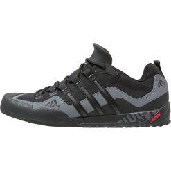 Buty trekkingowe męskie: adidas Performance TERREX SWIFT SOLO Buty wspinaczkowe black/lead
