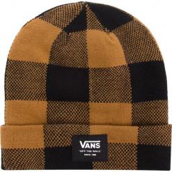 Czapka VANS - Mte Cuff Beanie VN0A3HJ9BXH Black/Rubber. Brązowe czapki zimowe damskie marki Vans, z elastanu. Za 99,00 zł.
