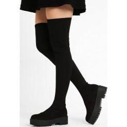 Coolway GALA Muszkieterki black. Czarne buty zimowe damskie Coolway, z materiału. W wyprzedaży za 209,30 zł.