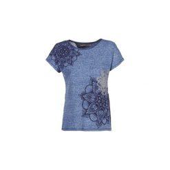 T-shirty z krótkim rękawem Desigual  GRIZELLY. Niebieskie t-shirty damskie marki Desigual, s. Za 161,85 zł.