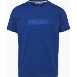 T-shirty męskie: Review – T-shirt męski, niebieski